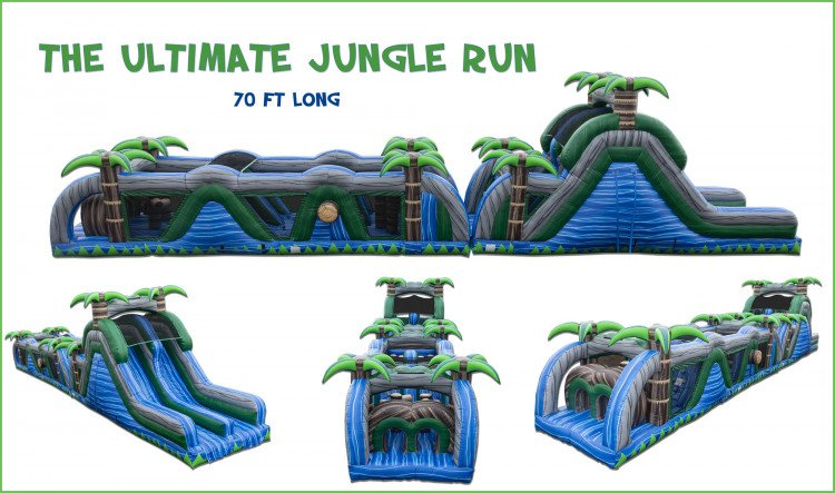 Ultimate Jungle Run Obstacle Course