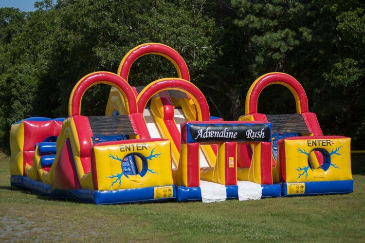 obstacle course rental in bourne ma
