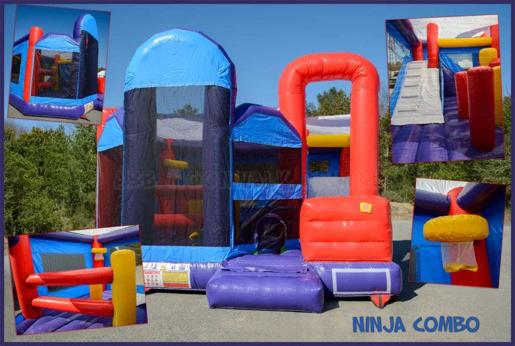 bounce house with slide rental cape cod ma201 1615169925 big Ninja Combo