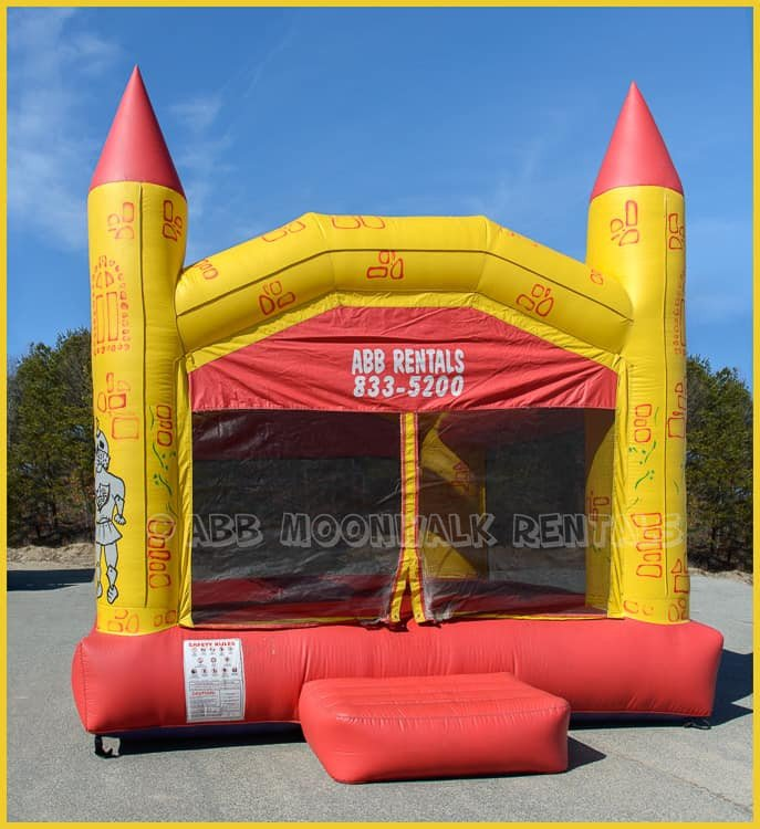 castle bounce house jumper wareham ma 1616428136 big Red and Yellow Castle