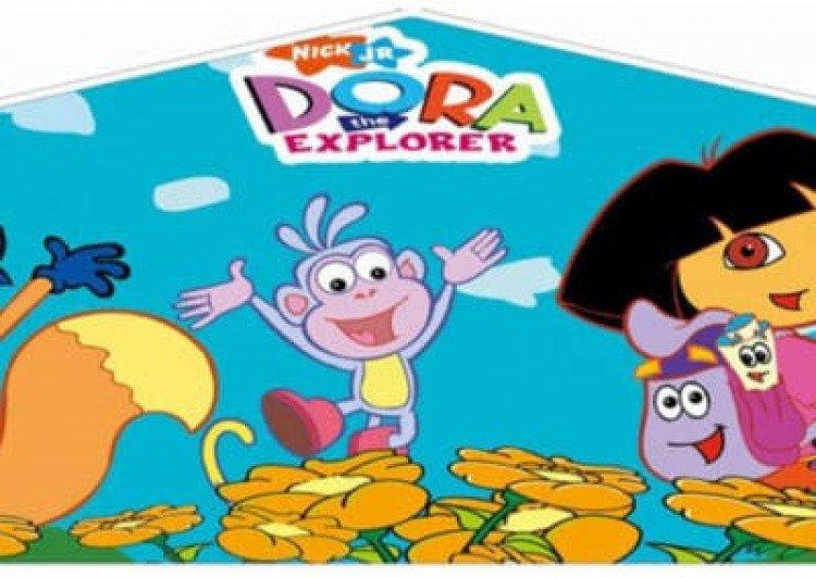 dora the explorer bounce house Dora the Explorer Banner