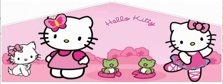 hello kitty bounce house jumper 1615247809 big Hello Kitty
