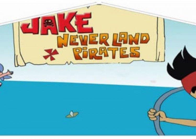 jake neverland pirates bouncy house Jake and the Netherland Pirates
