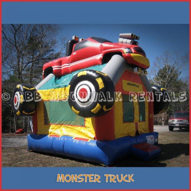 monster truck bounce house rental cape cod 1 1615169815 big Monster Truck