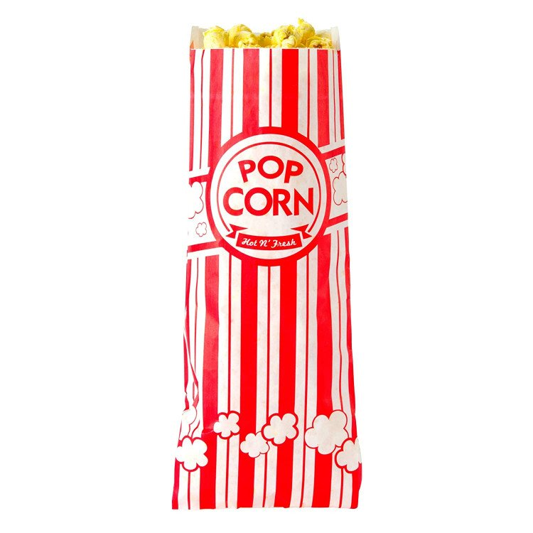 popcorn bags for popcorn machine rental 1615837378 big Popcorn Holders - 25 Bags