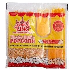 Popcorn Kernels & Butter - Serves 8 people