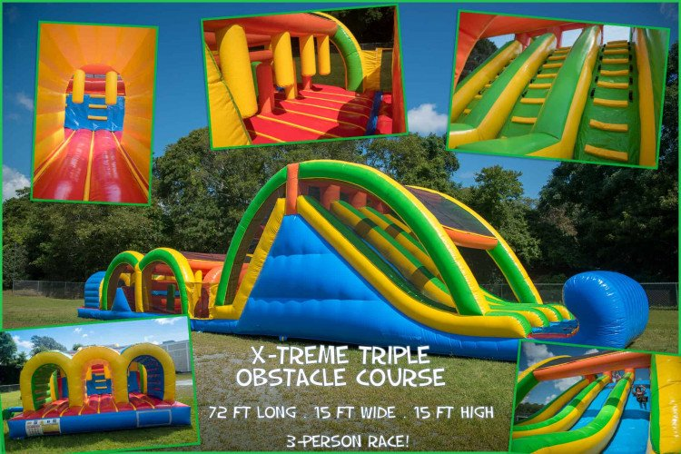 X-Treme Triple Obstacle Course