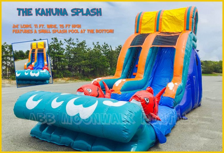 water slide rental cape cod kahuna slide plymouth 1615169522 big Kahuna Splash Water Slide