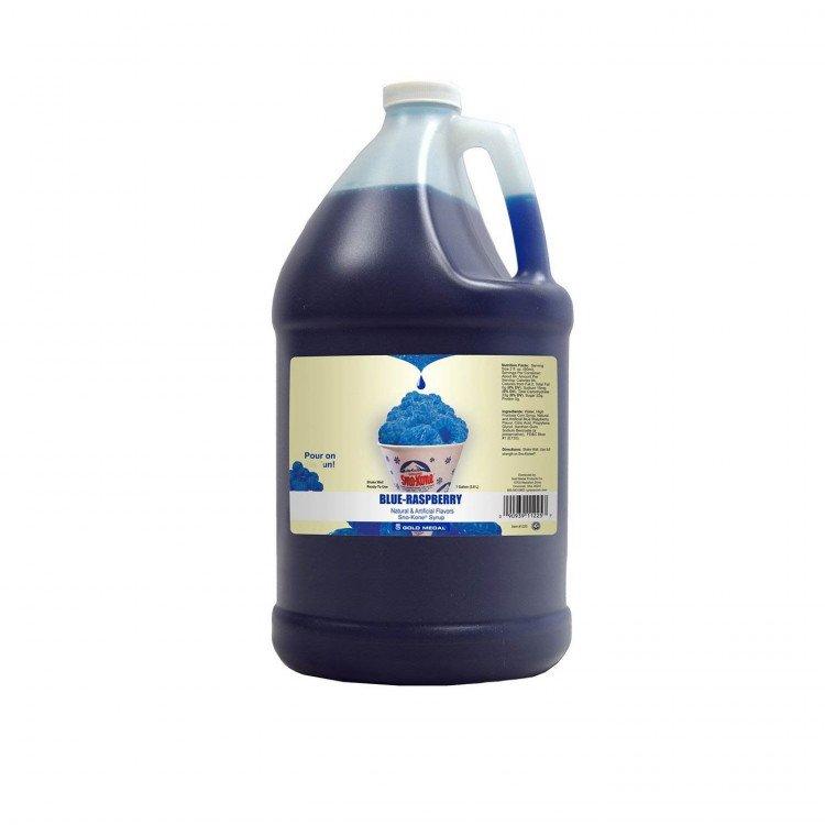 Sno-Kone Syrup - 1 Gallon - Blue Raspberry