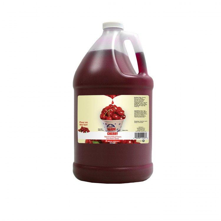 Sno-Kone Syrup - 1 Gallon - Cherry