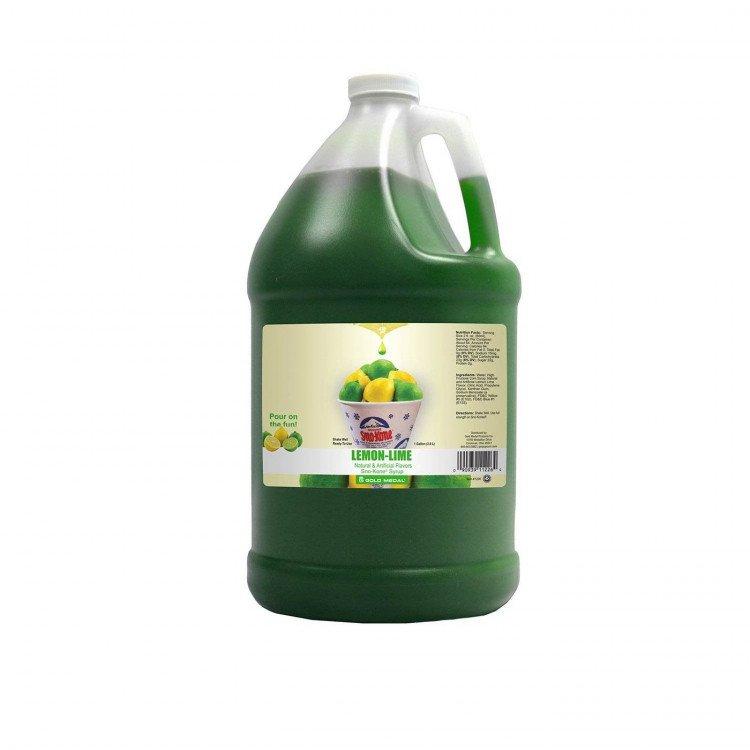 Sno Kone20Syrup20 20Lemon Lime l 1618249183 big 2 Sno-Kone Syrup - 1 Gallon - Lime