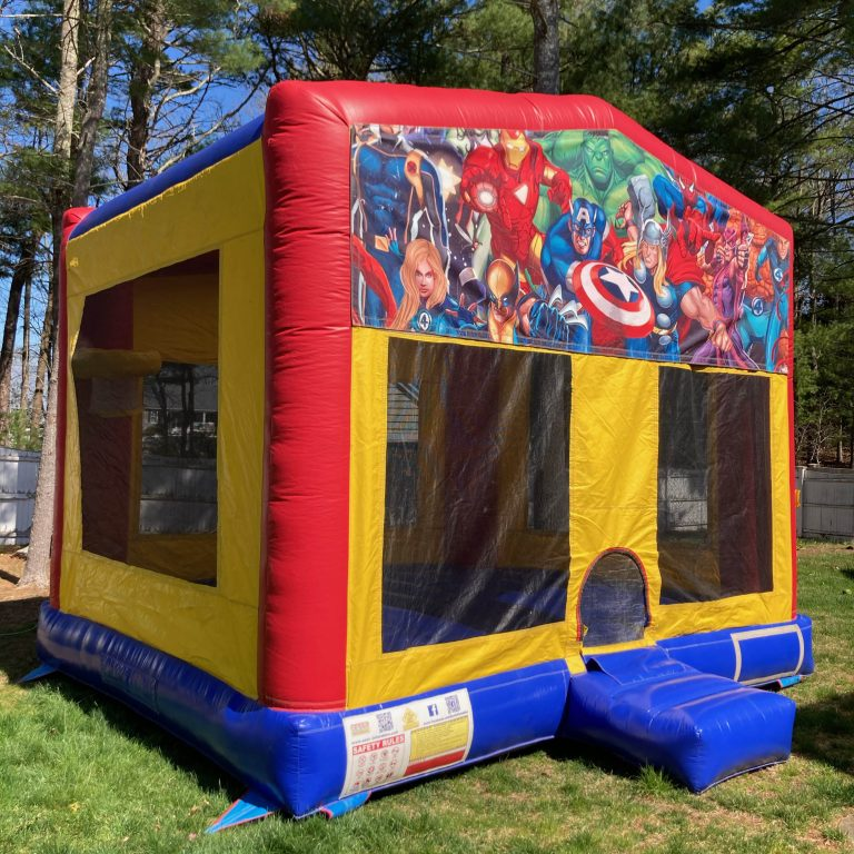avengers bounce house rental in plymouth, ma